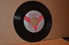 CRIS KEVIN: HAUNTED HOUSE & HERE HE COMES, THERE THEY GO; VG++ ROCKABILLY 45