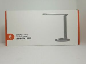 iTaoTronics LED Desk Lamp Eye-Caring Table Lamps, Dimmable Office Lamp with USB