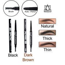 Waterproof Auto Rotation Eyebrow Pencil With Brush Eyeliner Eye Brow Definer NEW