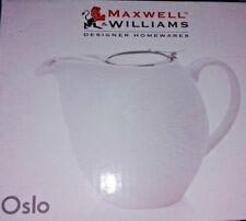 Maxwell Williams INFUSIONS T Oslo Teekanne Tee Kanne mit Teesieb Sieb weiß NEU