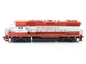 Athearn HO Scale Diesel Powered Locomotive 4642 Gp38-2 Frisco 671