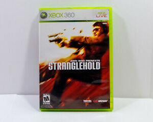 John Woo presents Stranglehold CIB Microsoft Xbox 360 Tested 30076 031719300761