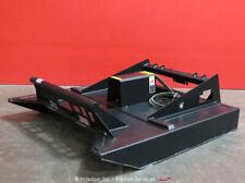 Greatbear Rotary Brush Cutter Hydraulic Skid Steer Attachment bidadoo -New