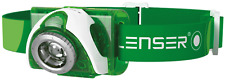 LAMPADA FRONTALE LED LENSER SEO3 VERDE MADE IN GERMANY
