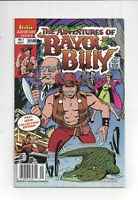 The Adventures of Bayou Billy 1 Archie 1989 High Grade Conner Art