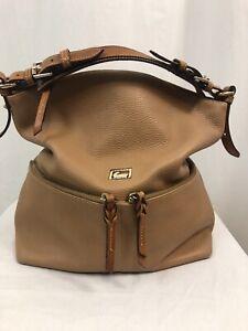 Dooney & Bourke Large Dillen Pocket Sac Shoulder Bag, Tan