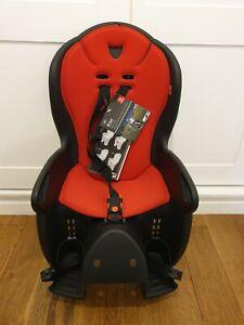 Hamax Kiss Rear Frame Mount Child Seat Black / Red