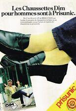 Publicité advertising 1980 Les Chaussettes Prisunic