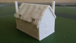Hornby Skaledale R9643 OO scale derelict cottage No 1 (unpainted), boxed