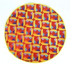 Lord R Colton Masterworks Pocket Square Sao Paolo Red /& Gold Woven Silk