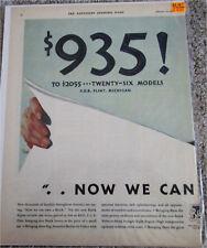 1932 Buick car ad