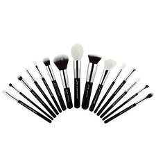 US Pro 15PCS Soft Makeup Brushes Set Beauty Cosmetic Face Kabuki Eye Kit Jessup