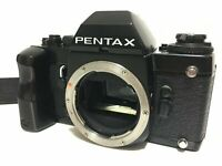 【Excellent+++++】 Pentax LX 35mm SLR Film Camera Body w/ Grip Strap 710