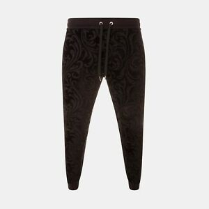 Versace Jacquard Baroque Sweatpants In Black RRP £650 *SOLD OUT WORLDWIDE🌍*