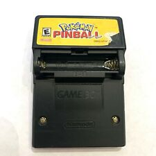 Pokemon Pinball Game - Game Boy Color Game - Tested & Working NO Battery Cover