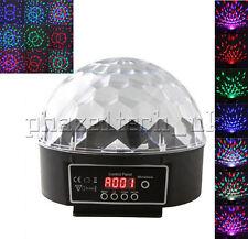 LED Sound Music Active DMX512 Crystal Stage Light Disco DJ Party 110/220V