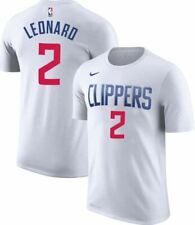 2019-2020 Nike Los Angeles Clippers Kawhi Leonard 2 Player Name & Number T-Shirt