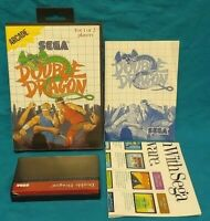Double Dragon - SEGA SMS Master System Rare Game Works Complete Authentic