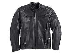 Harley Davidson Men's Drauger Willie G Skull Black Leather Jacket 2XL 97194-14VM