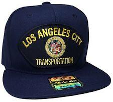 City Of Los Angeles Transportation Hat Color Navy Blue Snapback