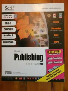 Desktop Publishing Suite 2008 PC CD-ROM (6 Disc's) - everything included!