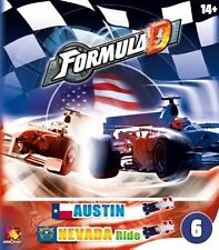 Formula D Board Game: Circuit 6 - Austin & Nevada Ride (New)