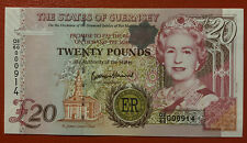 More details for guernsey 2012 commemorative £20 note. prefix qe/60 000914.  uncirculated