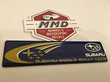 Subaru World Rally BRZ Outback XV Impreza WRX LEGACY STI Forester EMBLEM Badge