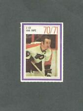 1970-71 Esso Hockey Stamp Ed Van Impe Philadelphia Flyers