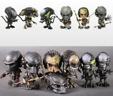 New HOTTOYS COSBABY AVP Alien WOLF PREDATOR Figure Model Toy 6pcs Set With Box