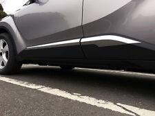 ABS Chrom Seite Tür Körper formen Verkleidung 4 Stück für Toyota C-HR 2016-2017