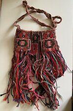 More details for vintage andean chuspa coca leaf bag