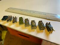 Lot of 8 Micro Machines Military Vehicles, Tanks and Personnel Carriers