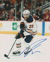 Leon Draisaitl Autographed Signed 8x10 Photo ( Oilers ) REPRINT