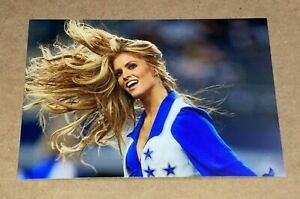 """DALLAS COWBOYS """"sexy hair"""" NFL CHEERLEADER 🏈 4x6 GLOSSY PHOTO 🏈 picture #G774"""