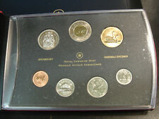Canada 2007 Specimen Set Royal Canadian Mint w/$2, Trumpeter Swan Dollar BOX+COA