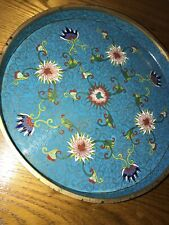 """Chinese 18th Century Cloisonne Dish 9"""""""