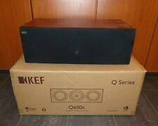 KEF Q600c SP3727CA Heimkino Center Lautsprecher Centerspeaker Kirsche NEU