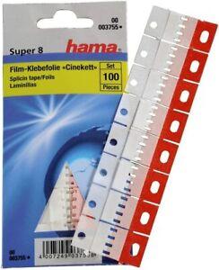 Hama Klebefolie für Super 8 Filme, 100 Stück, Cinekett Nr. 003755