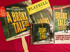 SIGNED CHAZZ PALMINTARI & CAST  A BRONX TALE: THE MUSICAL CD 2017 + XTRA XTRAS!