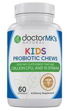Kids Probiotics Chewable by Doctor MK's®, Sugar Free, Tastes Li...