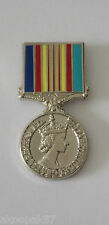 AUSTRALIAN VIETNAM CAMPAIGN MEDAL PIN 30MM HIGH ENAMEL & NICKEL PLATED
