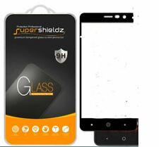 Supershieldz Full Cover Tempered Glass Screen Protector for ZTE Grand X4 (Black)