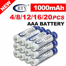 4-20X BTY AA/AAA Rechargeable Battery Recharge Batteries 1.2V 3000mAh Ni-MH CA