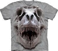 T-Rex Big Skull Dinosaur T Shirt Adult Unisex The Mountain