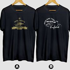 Royal Enfield Modern Classic Motorcycle New Cotton T-Shirt