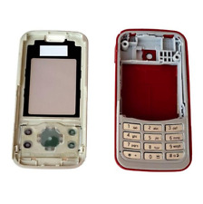Full Body Housing for Nokia 7610 Supernova - Red Replace Case Cover