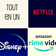 Supreme Tv Vod Une Application avec le contenu Netflix Amazone Prime Disney