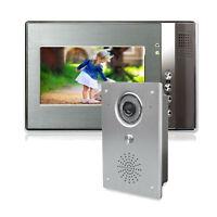Video Gegensprechanlage Haus Klingel Türsprechanlage Weitwinkel Kamera infrarot