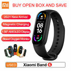 """Open Box Xiaomi Mi Band 6 Large 1.56"""" AMOLED USA Vers. 100% Tested Working Used"""